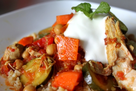 Chicken Vegetable Tagine