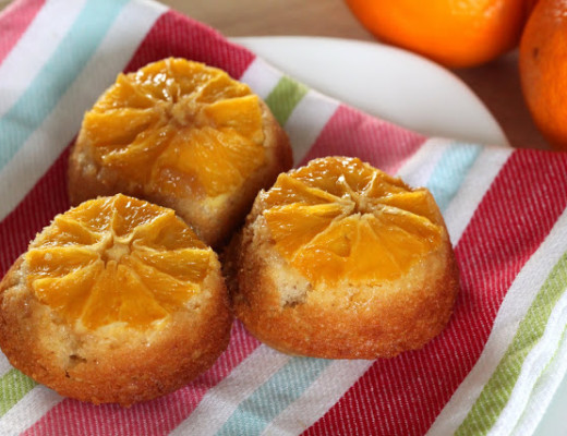 Orange Spice Upside Down Cakes