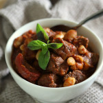Fasoulia Nashfe: Lamb and White Bean Stew