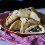 Fatayer bi Sabanegh: Spinach Triangles