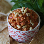 Roasted Red Pepper and Walnut Dip (Muhammara)