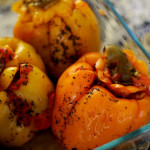 Arabic Stuffed Bell Peppers (Fil Fil Mahshi)