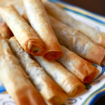 Lamb, Mint and Pine Nut Cigars