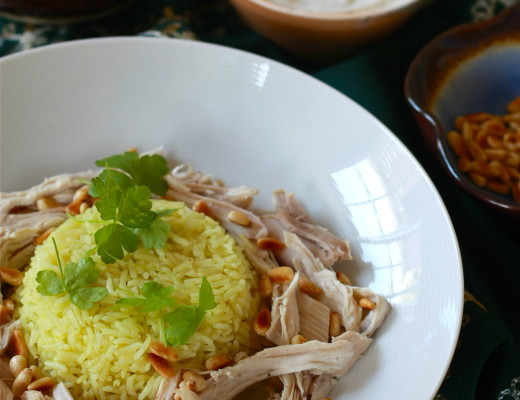 Aromatic Middle Eastern Chicken and Rice | Wandering Spice