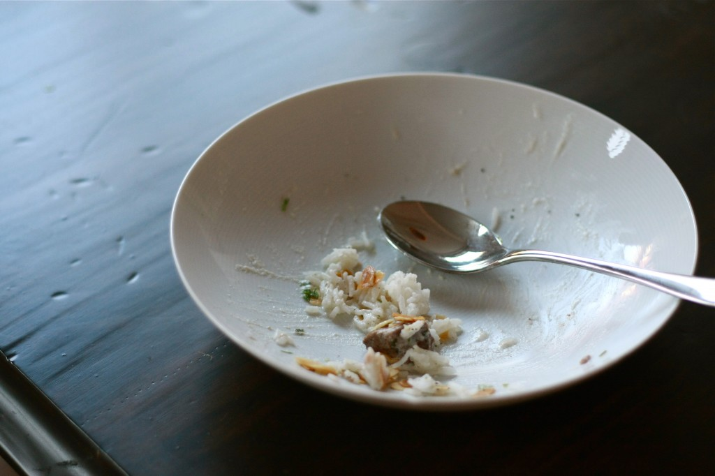 Empty bowl of Shakriya | Wandering Spice