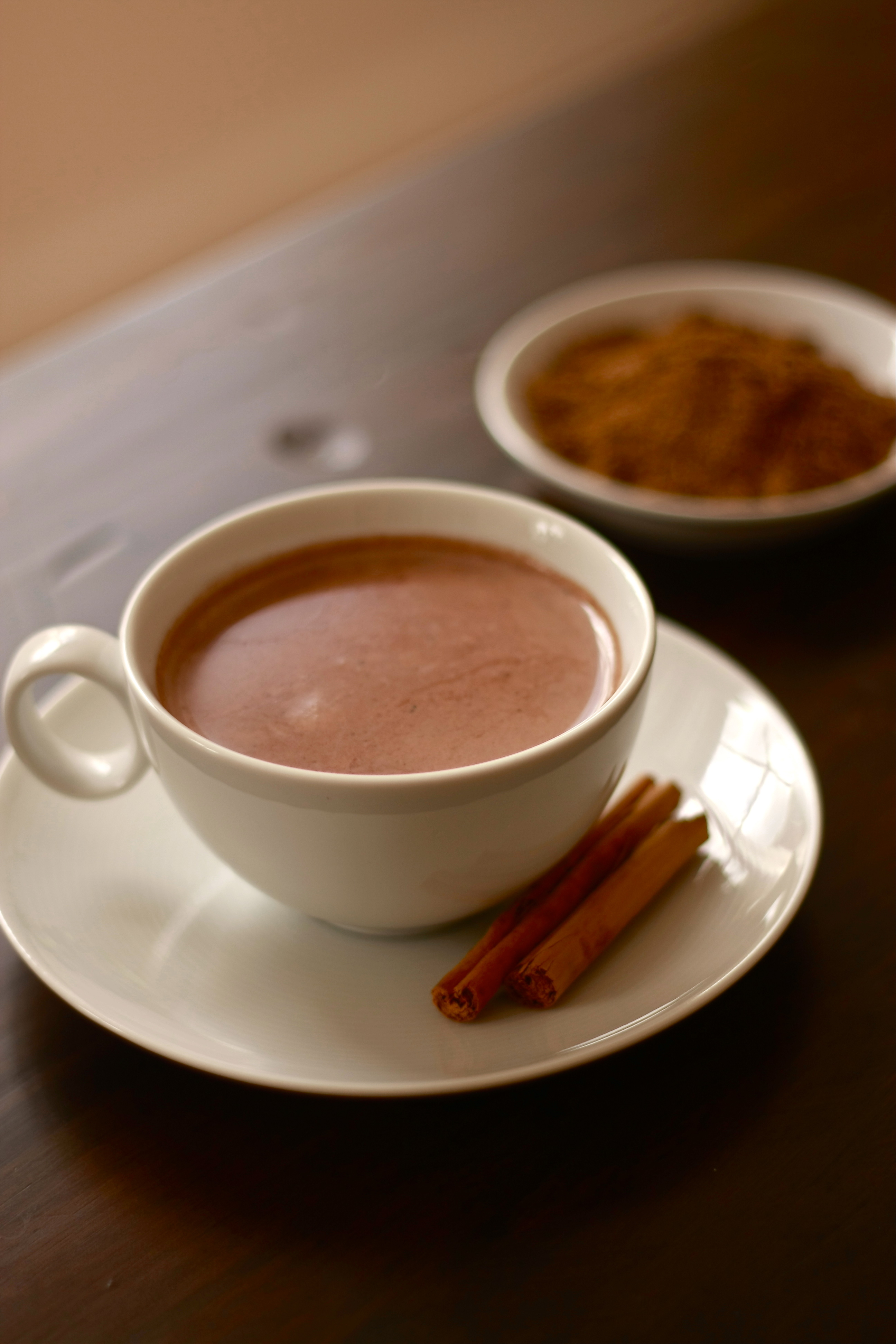 Arabic Seven Spice Hot Chocolate | Wandering Spice