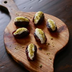Ricotta and Orange Blossom Stuffed Dates