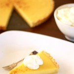 Tarte au Citron with Whipped Coconut Cream