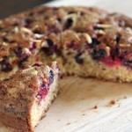Mom's Cherry and Brown Sugar Cake