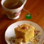 Turmeric and Almond Tea Cake (Sfouf)