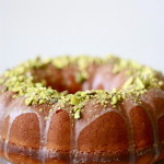 Lemon, Yogurt and Pistachio Bundt Cake