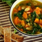 Mixed Vegetable and Baby Kale Soup