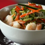 Shrimp and Vegetable Noodle Salad