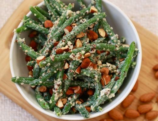 Green bean and quinoa salad