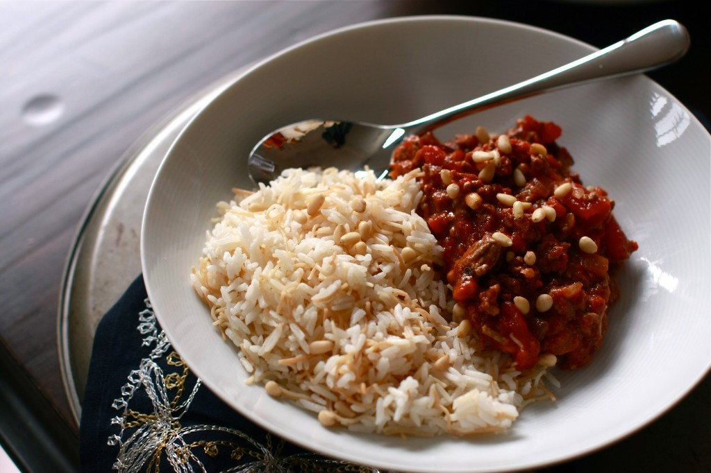 Allayeh (Middle Eastern bolognese) | Wandering Spice