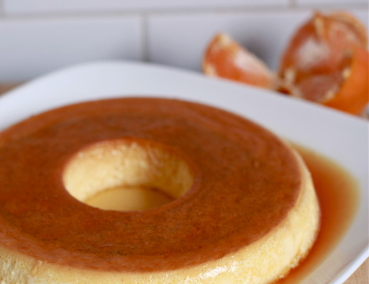 Classic Creme Caramel with Orange and Vanilla | WanderingSpice.com