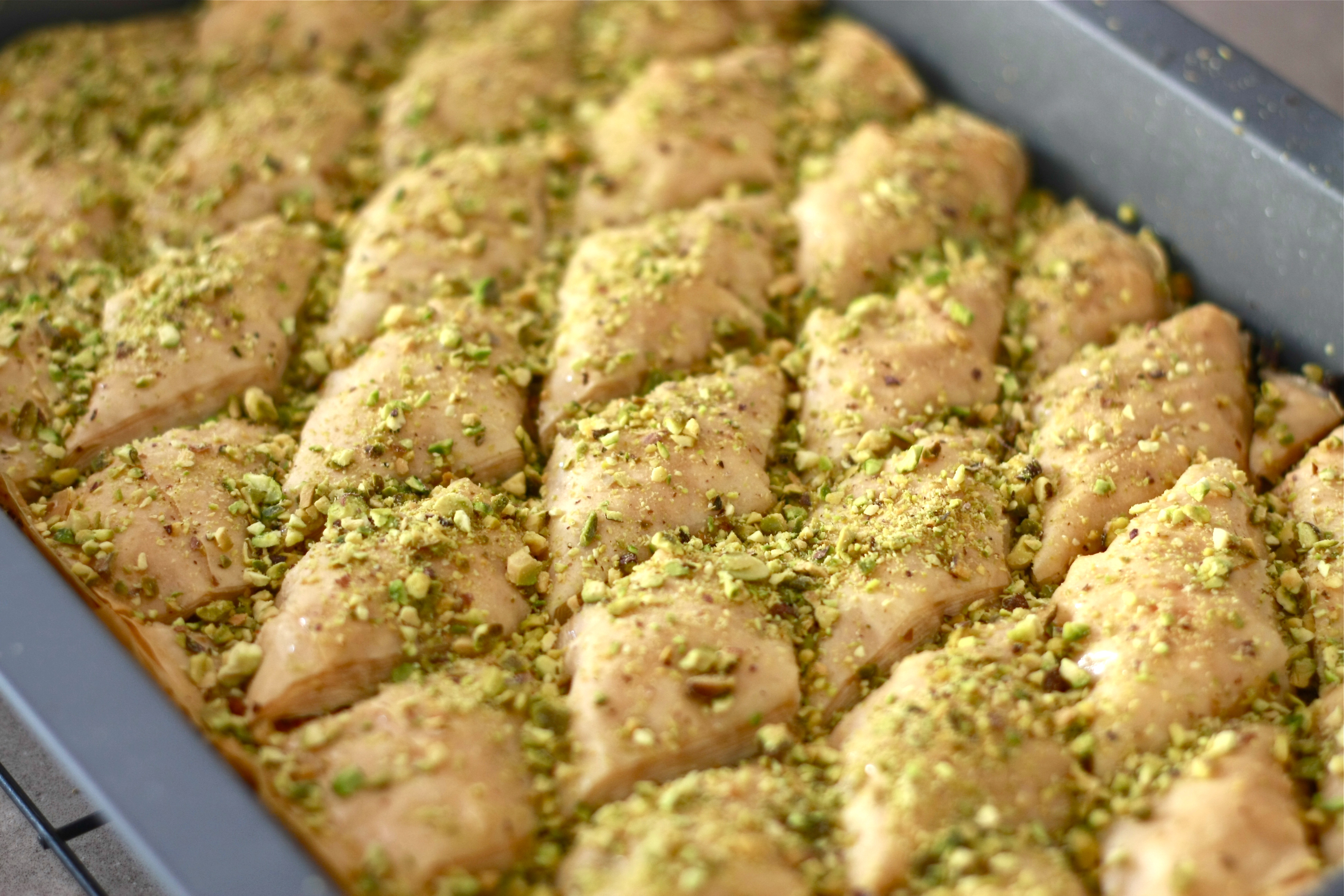 Traditional Almond Baklava | Wandering Spice