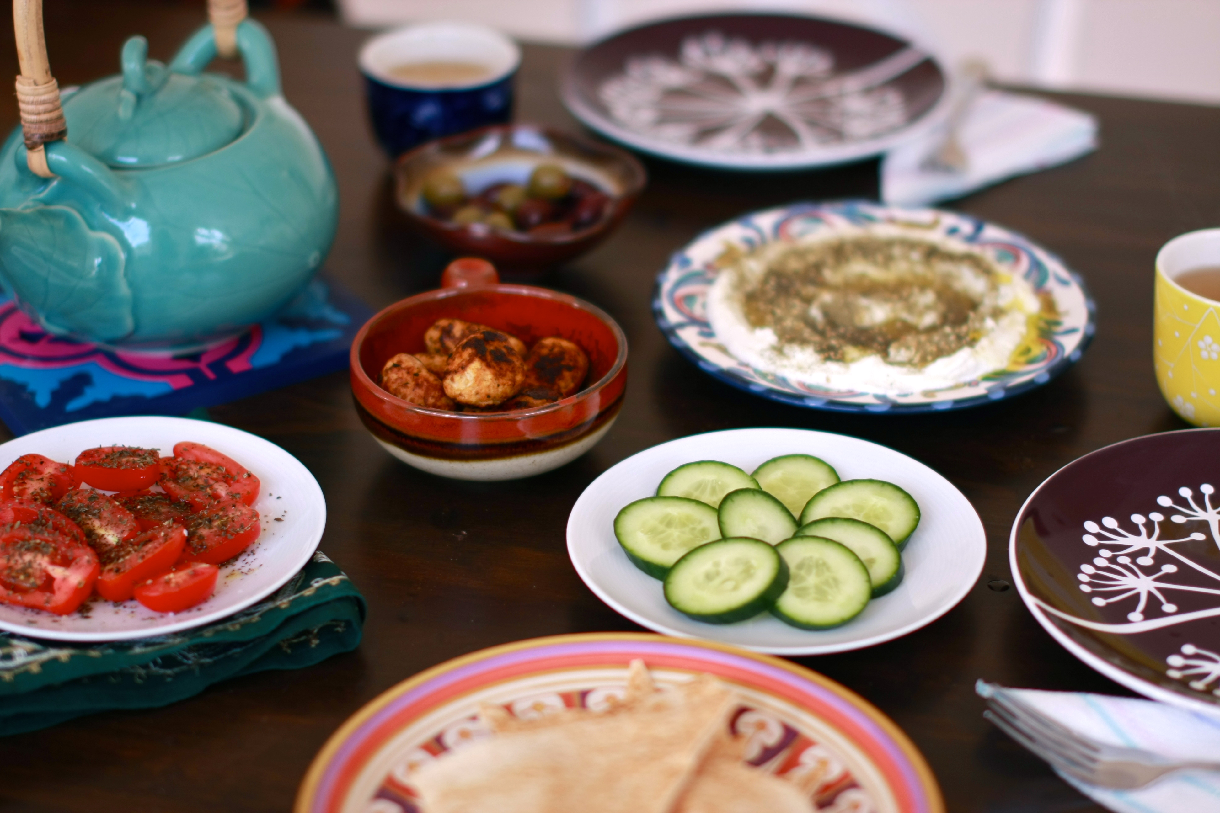 How to eat breakfast arabic style wandering spice how to eat forumfinder Gallery