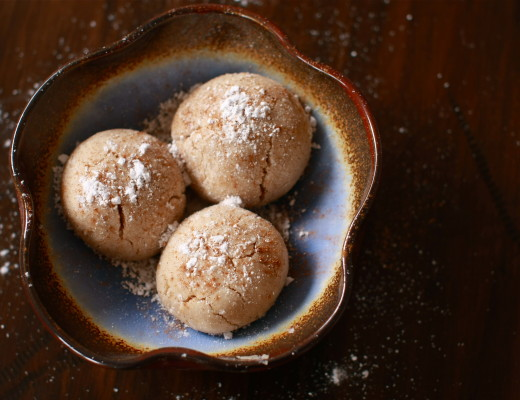 Tahini and cinnamon cookies | Wandering Spice