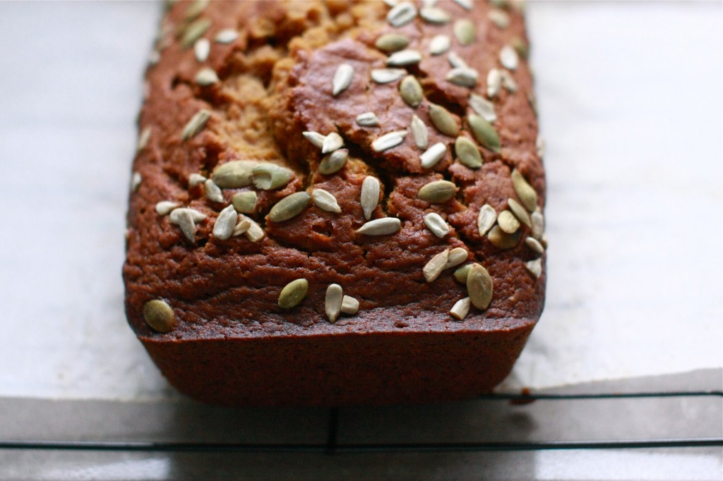 IMG_2209Easy, one-bowl Pumpkin Ginger Cake | Wandering Spice