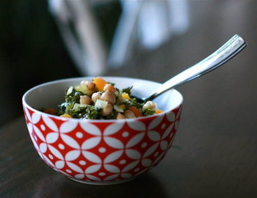 Braised Kale and Chickpea Stew | Wandering Spice