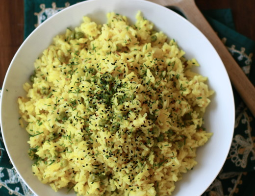 Spicy Indian-style Rice   Wandering Spice