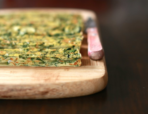 Vegetable and Herb Frittata| Wandering Spice