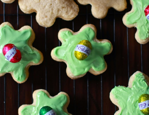 Marzipan-filled Easter cookies from Malta