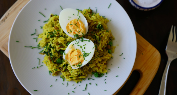 My Vegetarian Kedgeree | Wandering Spice