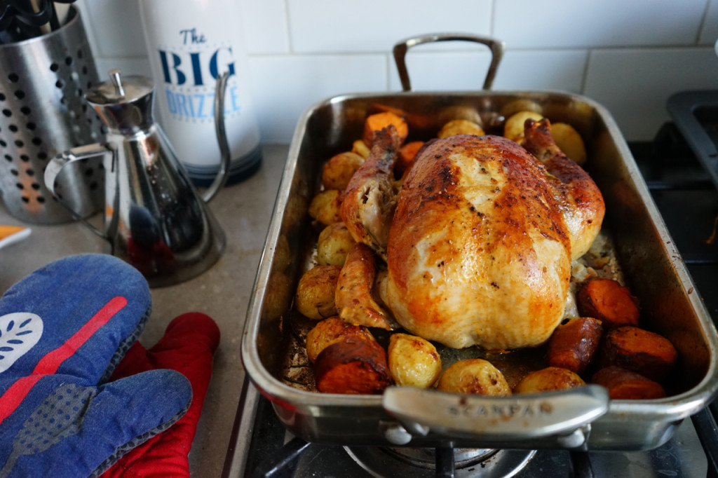 How To Make Perfect Roast Chicken and Vegetables | Wandering Spice
