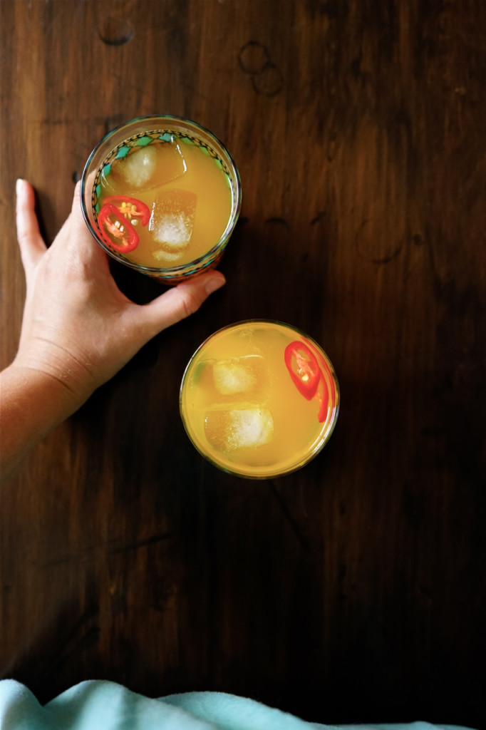 Turmeric, Chili and Ginger Tonic | Wandering Spice