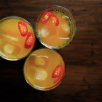 Turmeric, Ginger and Chili Tonic